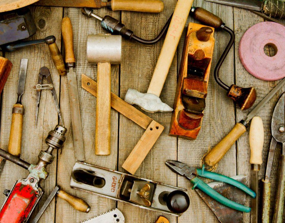 ferramentais manuais