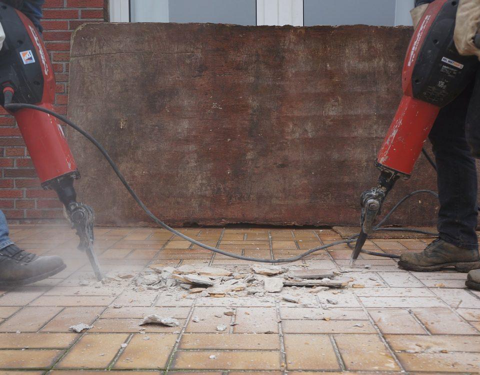ferramentas para demolição
