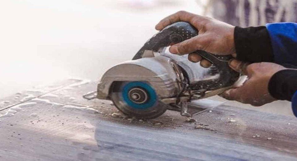 usar serra mármore