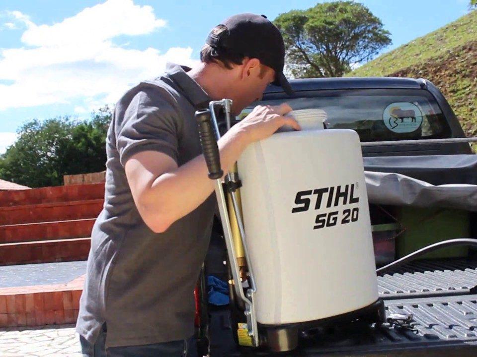 qual é a diferença entre pulverizadores a Gasolina e Manual